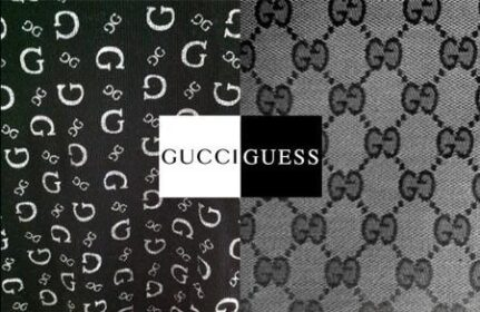 Gucci Vs. Guess